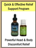 Quick & Effective Natural + Powerful Head & Body Discomfort Relief