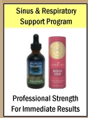 Professional Strength -- Immediate Sinus & Respiratory Relief